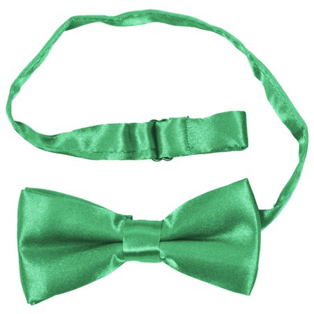 THZY Children Kids Boys Girls Clip-on Suspenders Elastic Adjustable Braces With Cute Bow Tie dark - Green Suspenders And Bow Tie