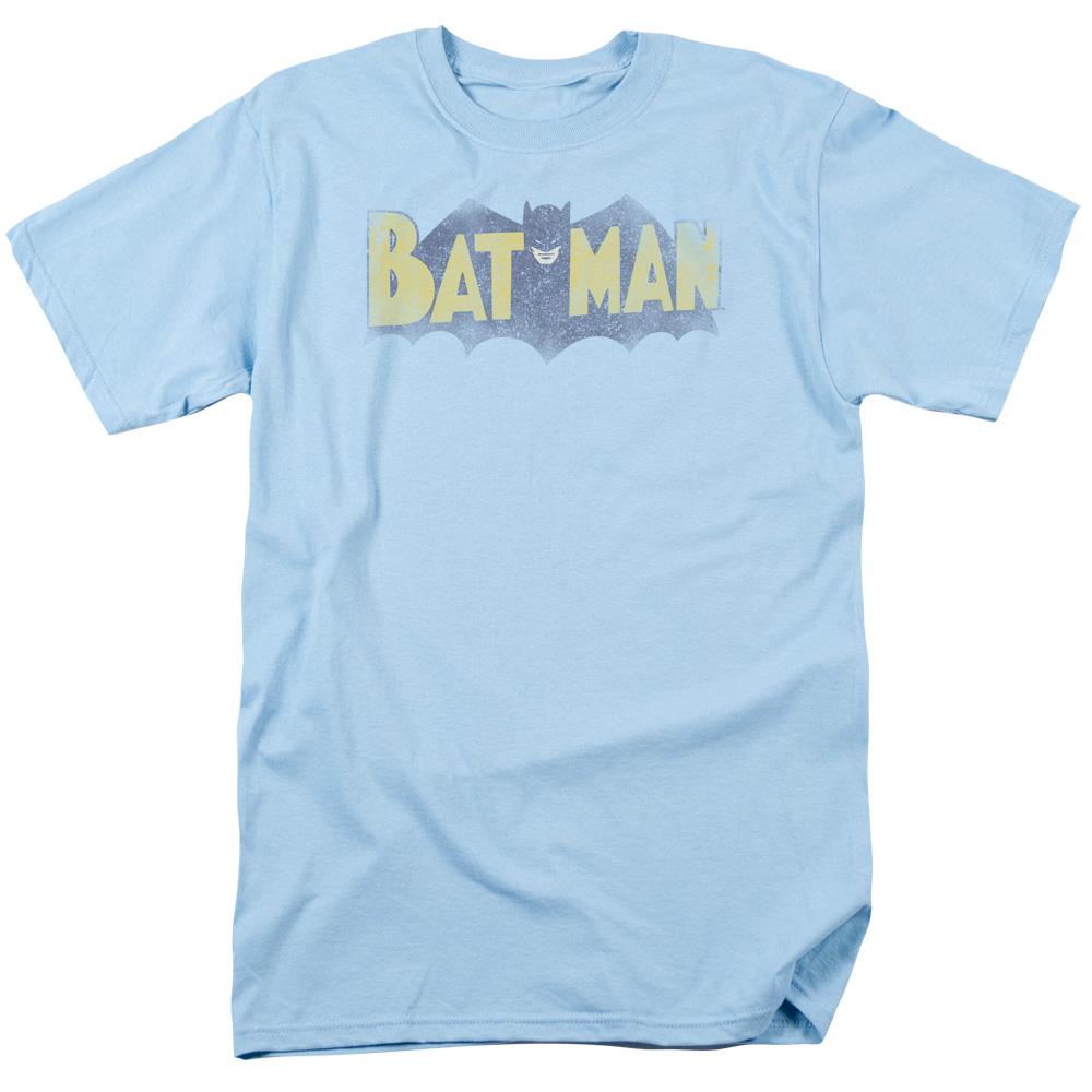 Batman Vintage Logo Mens Short Sleeve Shirt by Trevco