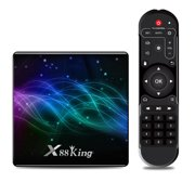 X88 King Android 9.0 S922X BT5.0 Hexa-core Mali-G52 MP6 TV Set Top Box LPDDR4 4GB+128GB 4K 2.4G/5G WiFi