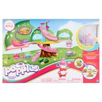 Popples Deluxe Pop Open Treehouse Playset