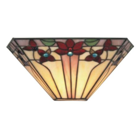 - Its Exciting Lighting Tiffany IEL-9002 Outdoor Wall Sconce