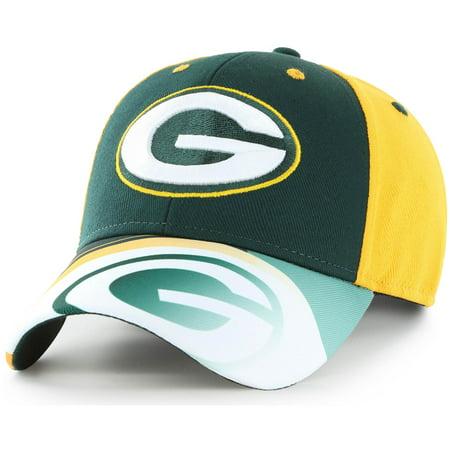 Men's Fan Favorite Green/Gold Green Bay Packers Squib Kick Adjustable Hat - - Bday Hats