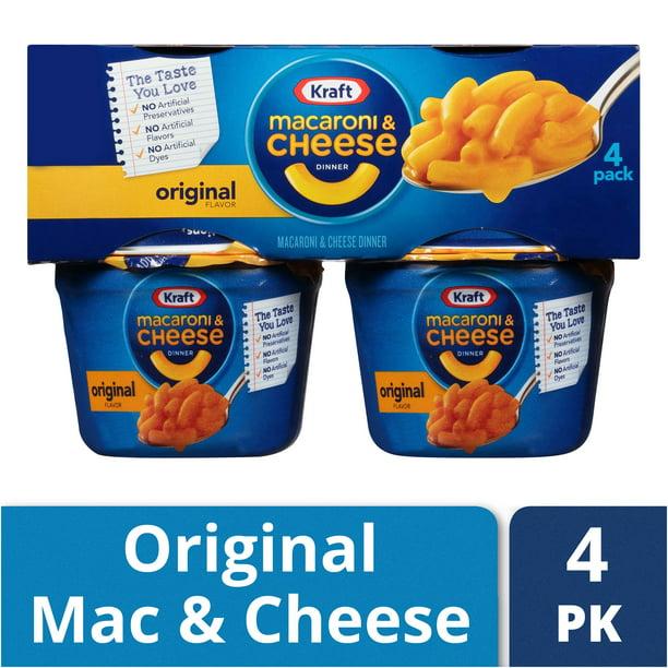 Kraft Easy Mac Original Flavor Macaroni