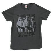 Star Wars Stormtroopers Get Blasted Vintage Style Movie Junk Food Adult T-Shirt