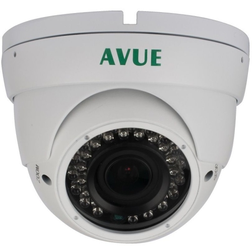 Avue AV676PIRW 1.3 Megapixel Surveillance Camera - Color - 1280 x 720 - 4.3x Optical - CMOS - Cable