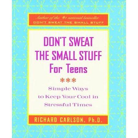 Don't Sweat the Small Stuff for Teens Journal](Small Teen Dp)