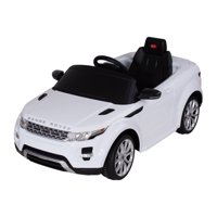 Land Rover 12 volt Ride on power battery car for kids Remote control LED ligths MP3 Engine Sounds New Design - White
