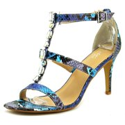 Thalia Sodi Playa Women US 10 Blue Sandals