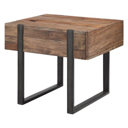 Magnussen Prescott Reclaimed Wood Rectangular End - Magnussen Modern Table