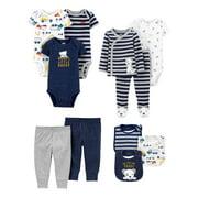 Child of Mine by Carter's Baby Boy Baby Shower Layette Gift Set, 11-Piece, Preemie-24 Months