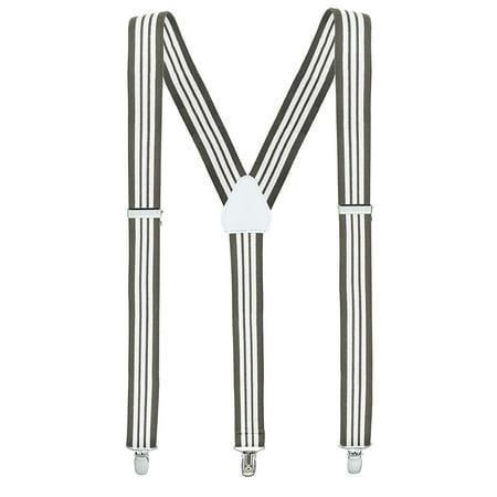 5c03aac9468 Hold Em - Mens Suspenders For Men With Clips Y Back Design Pant Clip Style  Tuxedo Braces - Walmart.com