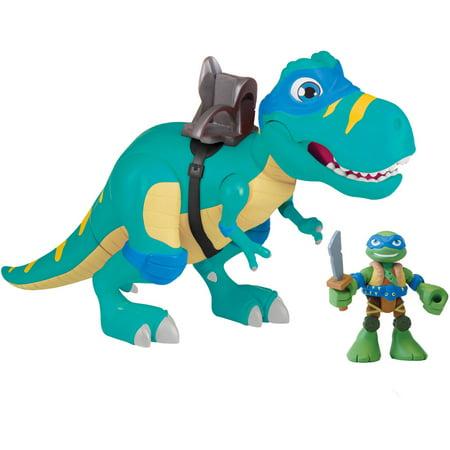 T-Rex with Leonardo