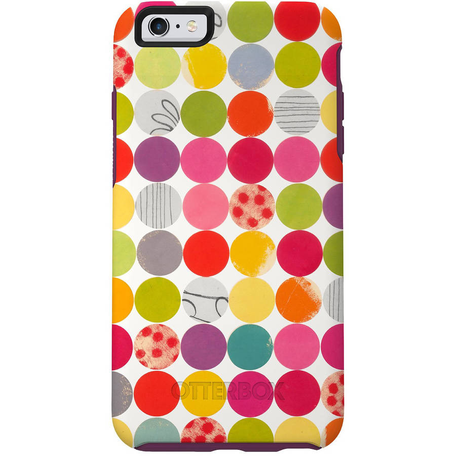 OtterBox Symmetry Series Case for Apple iPhone 6/6s, Gumballs