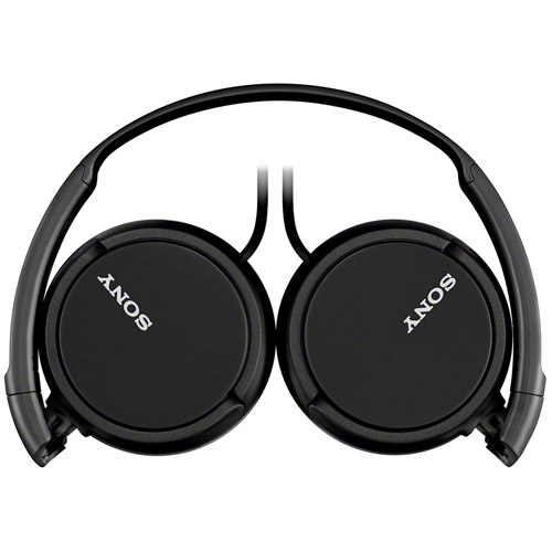 Sony MDRZX110/BLK ZX-Series Compact Folding Headphones