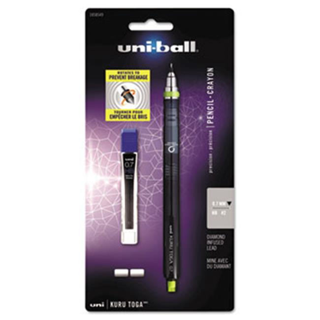 Sanford Ink Company 1858549 Kuru Toga Mechanical Pencil, 0. 7 mm, Green