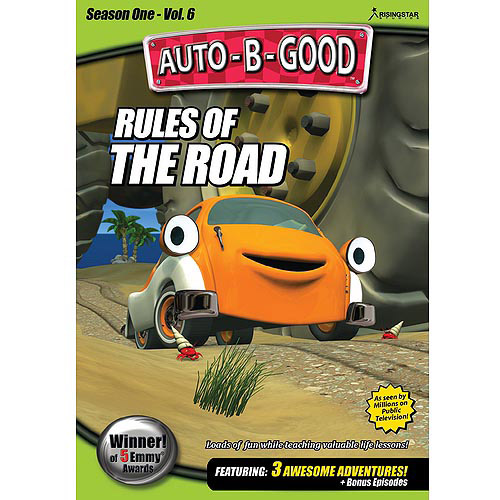 AUTO-B-GOOD-RULES OF THE ROAD (DVD) (4X3/1.33:1)