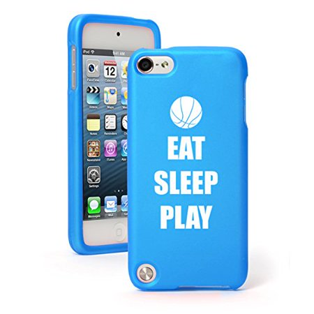 - For Apple iPod Touch 6th Generation Rubber Hard Case Cover Eat Sleep Play Basketball
