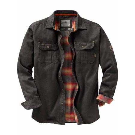 Legendary Whitetails Men's Journeyman Rugged Shirt Jacket Xxl Work Jacket