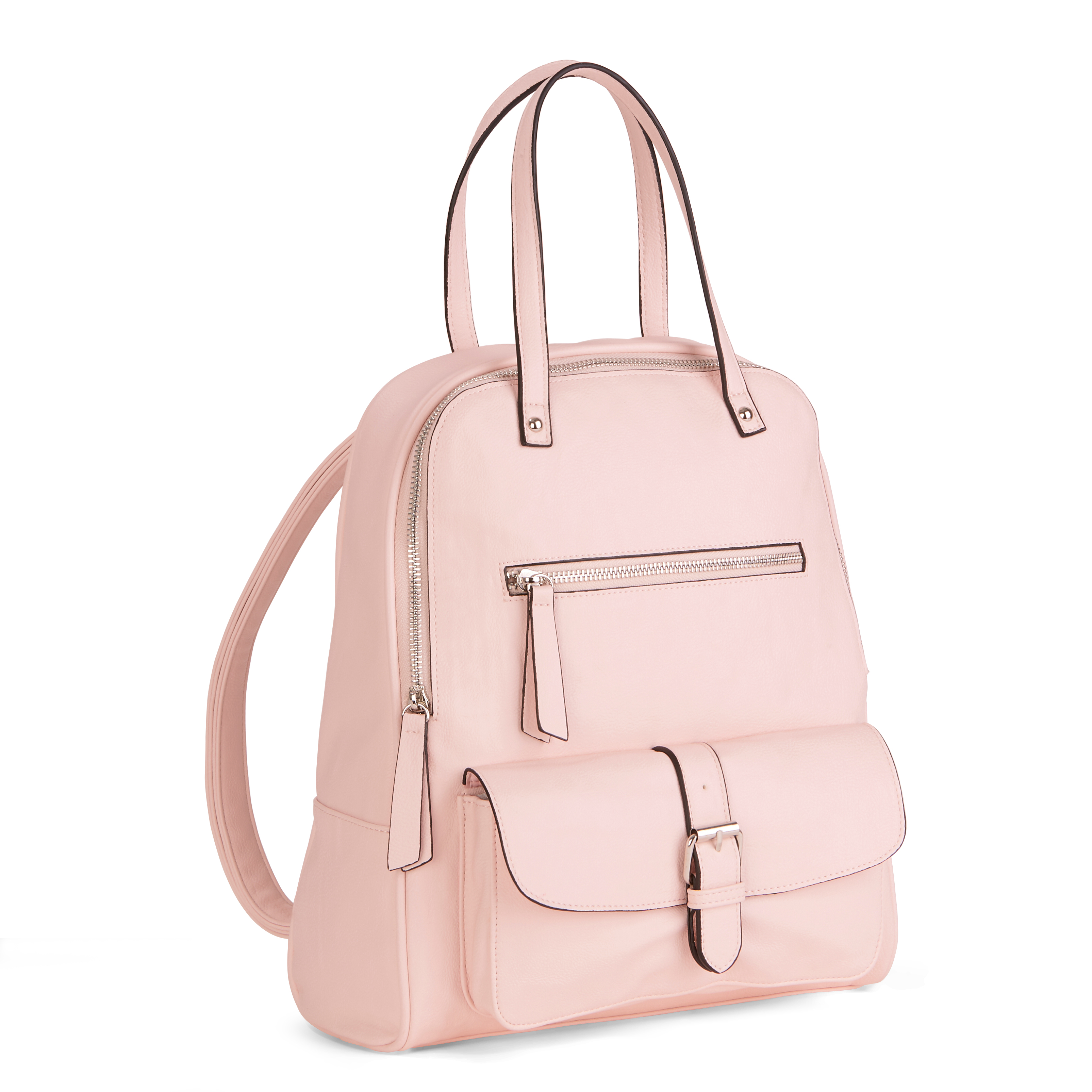 No Boundaries Pink Handbag Backpack