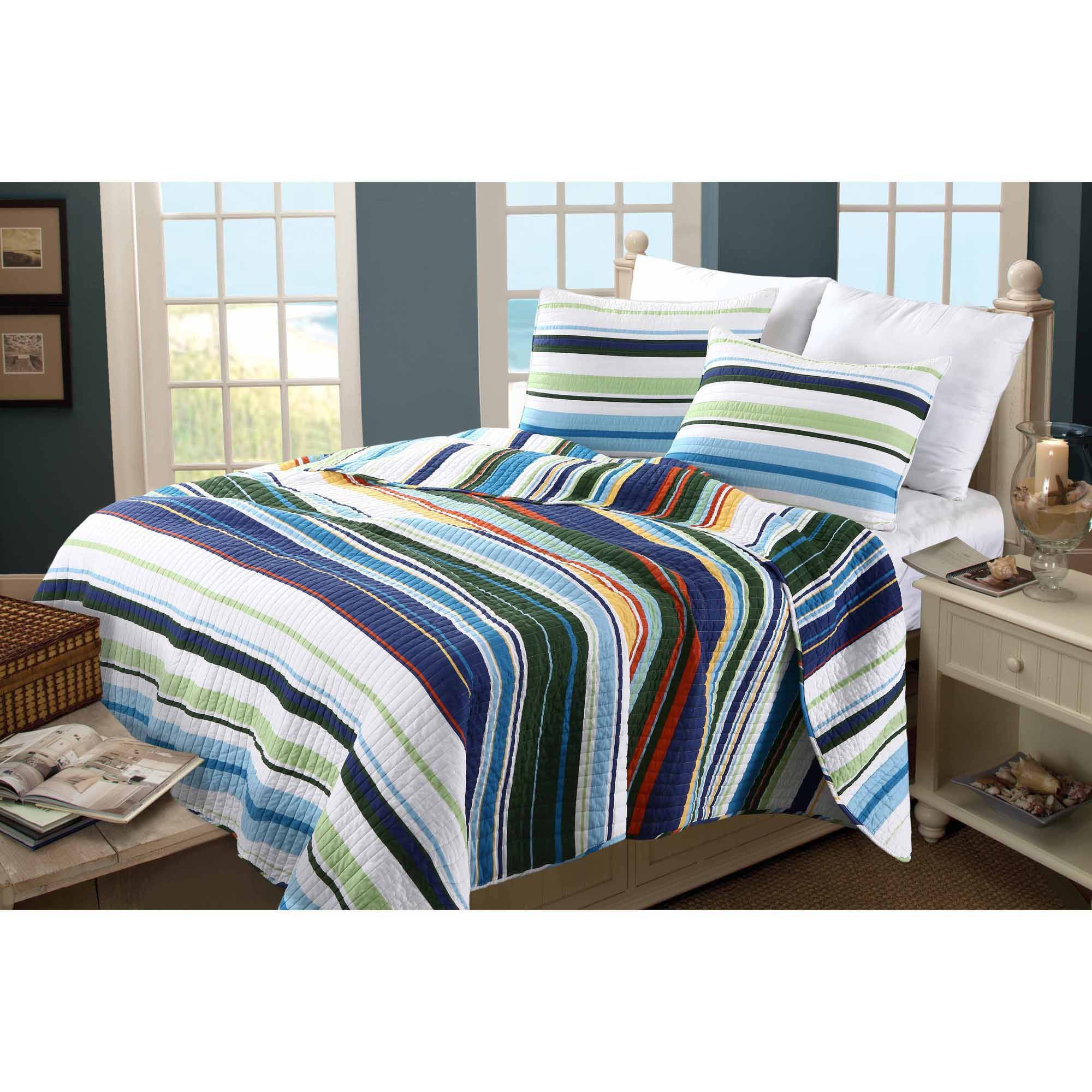 Greenland Home Fashions Global Trends Jersey Bedding Quilt Set