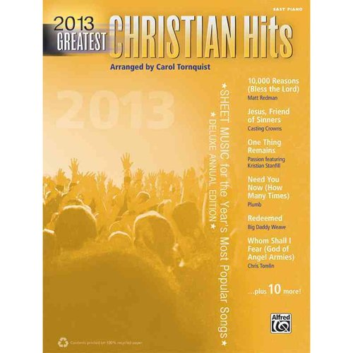 Greatest Christian Hits 2013: Easy Piano