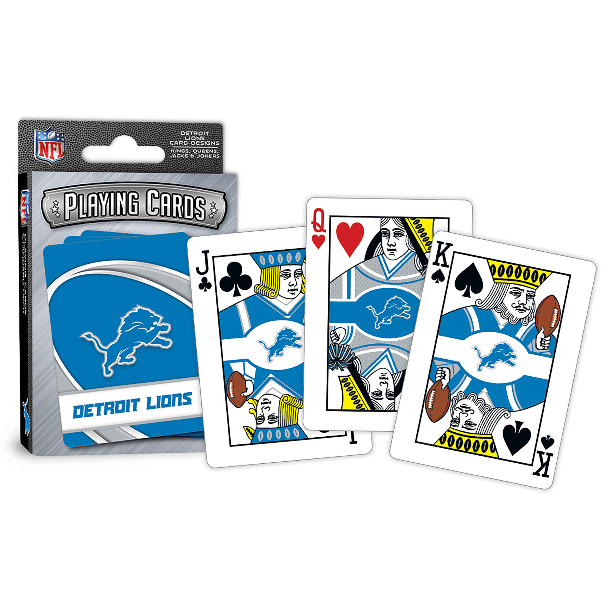 MasterPieces Detroit Lions Playing Cards