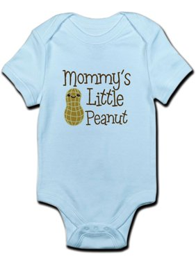f3887f3dd2ddef Product Image CafePress - Mommy s Little Peanut Body Suit - Baby Light  Bodysuit