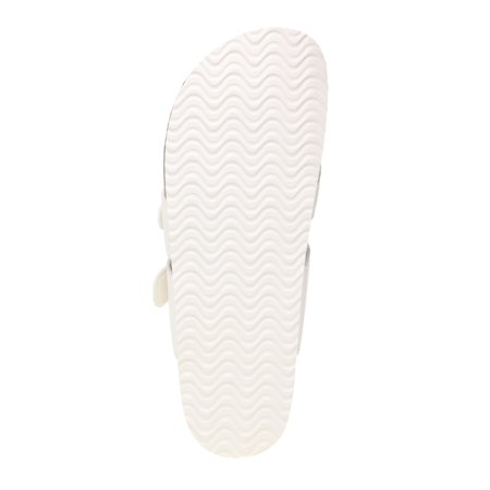Time and Tru Footbed Thong Slide Sandal (Women's) (Wide Width Available)
