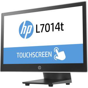 Hp L7014t 14  34  Led Led Touchscreen Monitor   16 9   16 Ms   Projected Capacitive   1366 X 768   Wxga   14 4 Million Colors   350 1   200 Nit   Black  Asteroid   Epeat Gold  Energy Star 7 0  Au