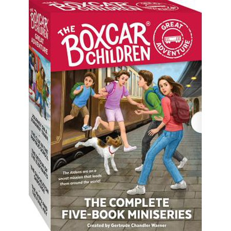 The Boxcar Children Great Adventure 5-Book Set](Adventure Books For Kids)