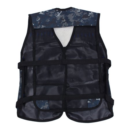 HERCHR Gaming Vest, Waterproof Tactics Vest / Coat / Jacket Gun Foam Dart Clip Holder Waterproof for Soft Bullet Guns Cs (Best Bullet Proof Vest For Law Enforcement)