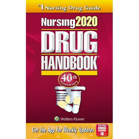 Nursing2020 Drug Handbook (Best Nurse Drug Books)