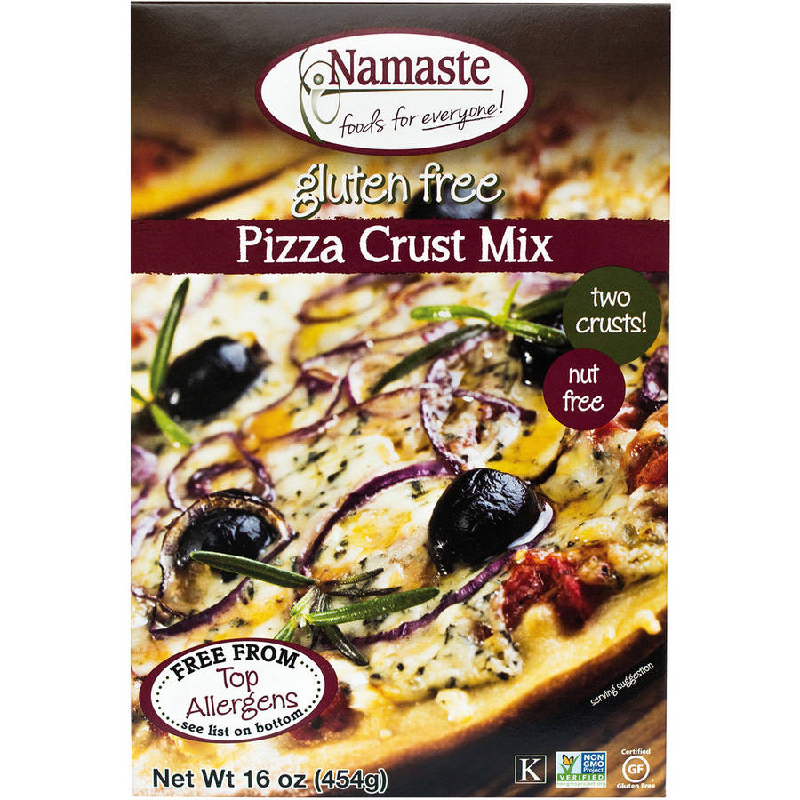Namaste Foods Pizza Crust Mix, 16 oz