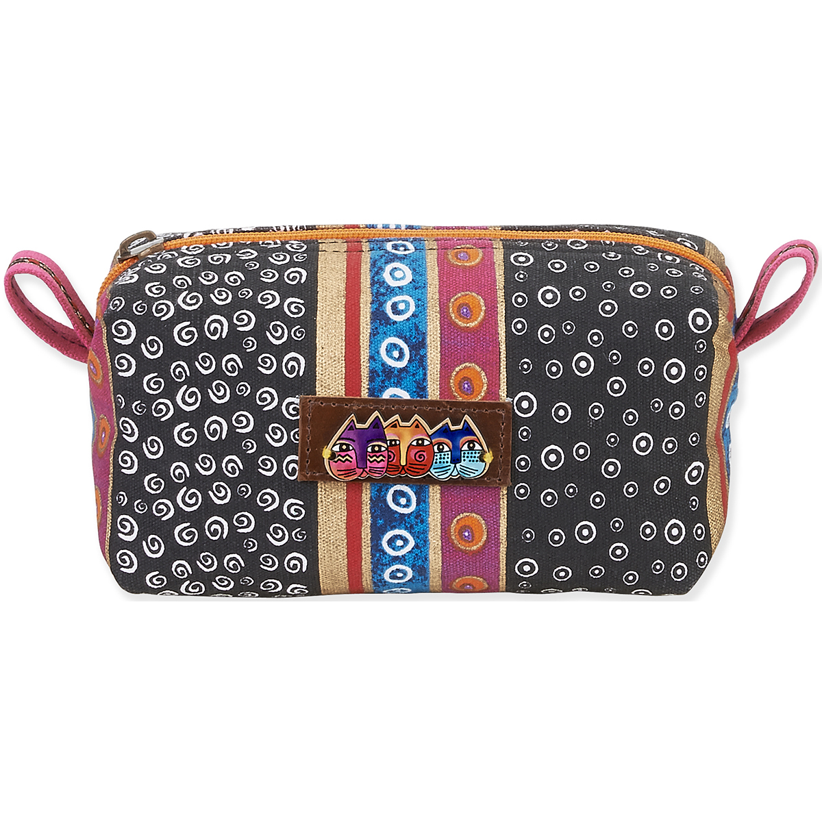 Cosmetic Pouch 7.5 Inch X 4 Inch X 4 Inch-Signature Collection