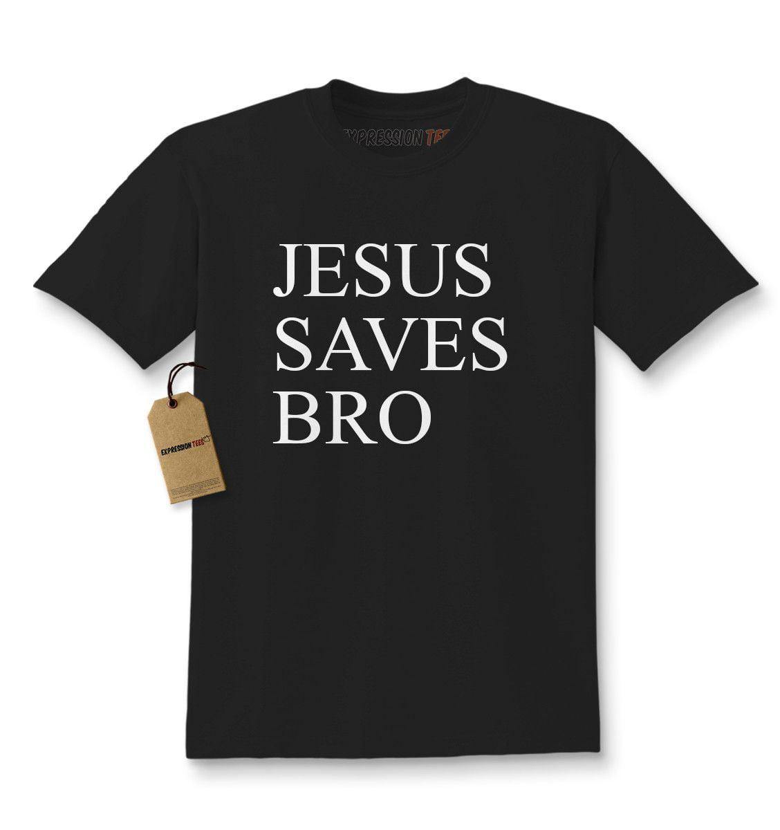 Jesus Saves Bro Kids T-shirt