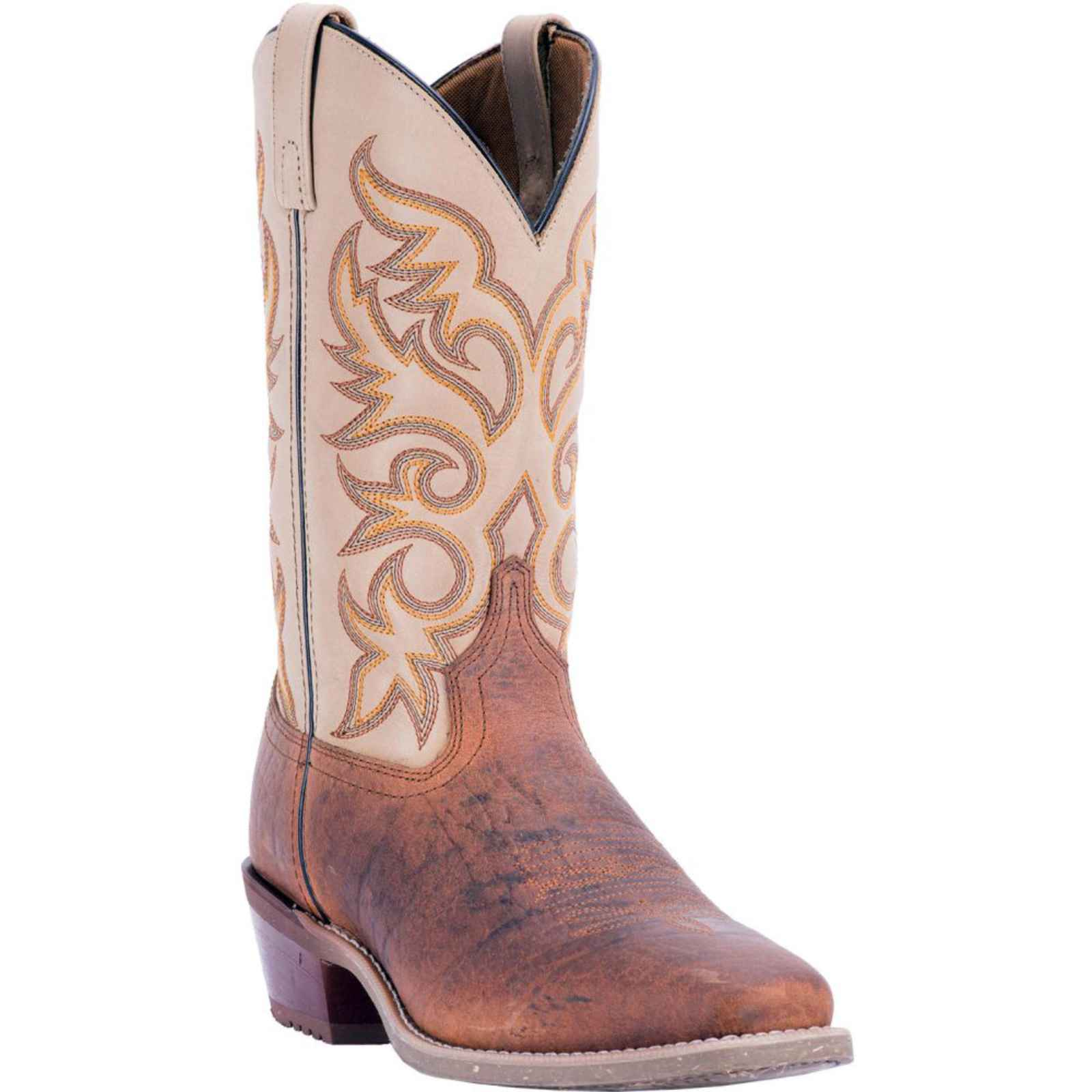 "Dan Post Men's 12"" Rust Sholder Square Toe Cowboy Boot, 68341 by DAN POST"