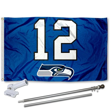 Seattle Seahawks 12Th Man Flag And Accessory Kit