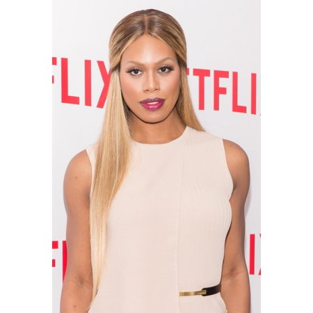 Laverne Cox At Arrivals For Orange Is The New Black Screening Canvas Art     16 X 20