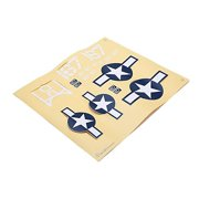 HobbyZone Decal Sheet: Corsair S HBZ8209