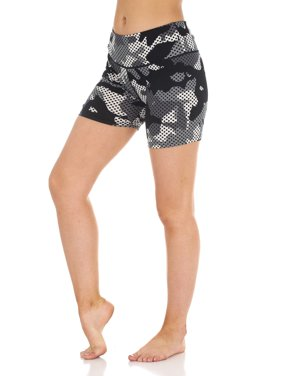 8c0fd5cb74748 Product Image Women's Active Camo Print Bike Shorts
