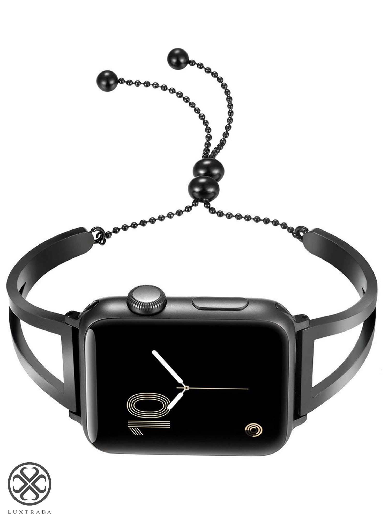 Black Adjustable Replacement Shoulder Strap Plastic Fastener for Laptop Bag 38mm