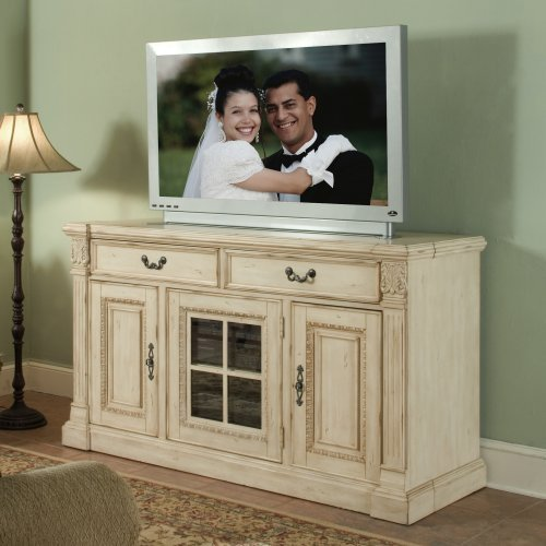 Riverside Weybridge 64-Inch Console - Wellington White