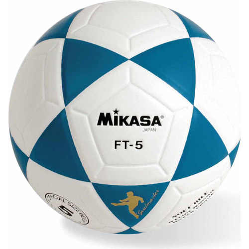 Mikasa FT5 Soccer Ball, Size 5, Blue/White