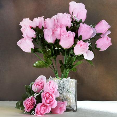 balsacircle 84 silk buds roses wedding flowers bouquets sale. Black Bedroom Furniture Sets. Home Design Ideas