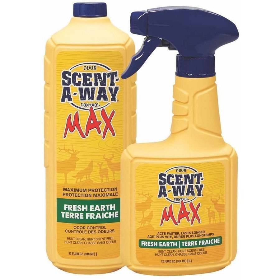 Scent-A-Way Max 12oz and 32oz Earth Spray Combo