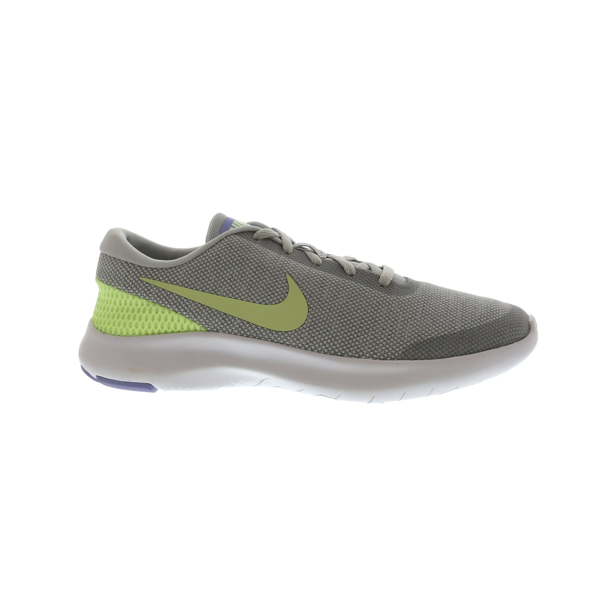 956fef01f64c Nike Women s Flex Experience Rn 7 Pure Platinum   Barely Volt Ankle-High  Fabric Running Shoe - 9.5M
