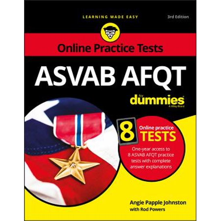 ASVAB Afqt for Dummies : With Online Practice Tests - Test Dummy Costume