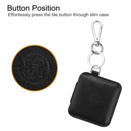Fintie Coque de protection housse pour carreau mince Item Tracker Phone Finder, Noir - image 4 de 7