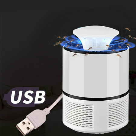USB Photocatalyst Mosquito killer lamp Mosquito Repellent Bug Insect Trap light UV Light Killing Trap Lamp Fly Repeller (Killer Whale Kills Great White Shark National Geographic)
