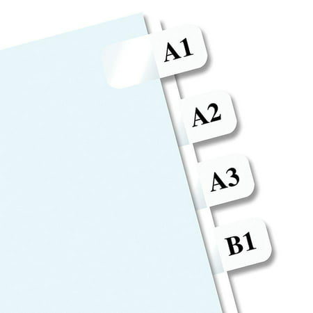 White Printable Inserts (Redi-Tag, RTG39000, Laser Printable Index Tabs, 675 / Pack)